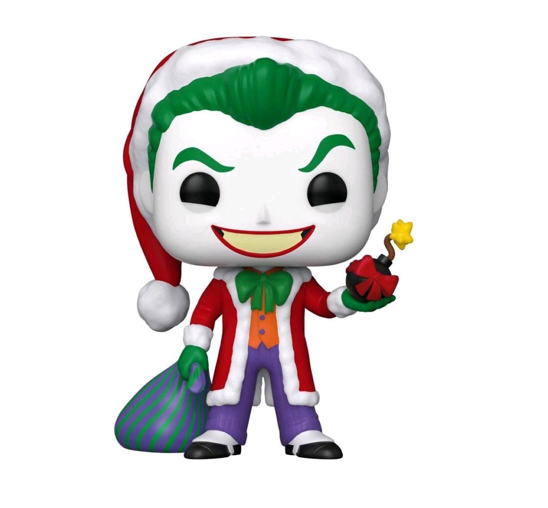 PRE-ORDER Batman - Joker Santa Holiday Pop! Vinyl Figure