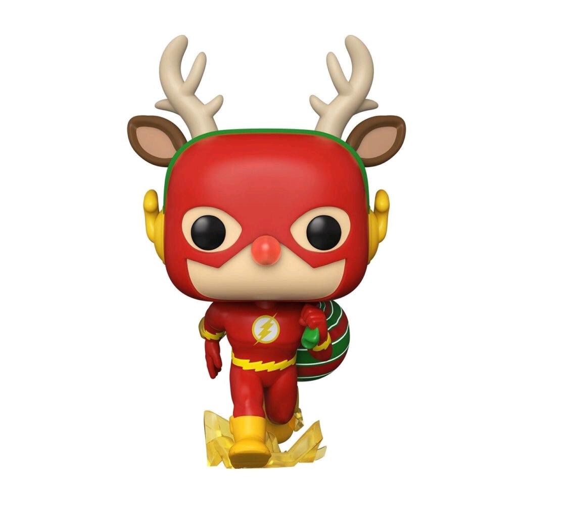 PRE-ORDER Flash - Flash Rudolph Holiday Pop! Vinyl Figure