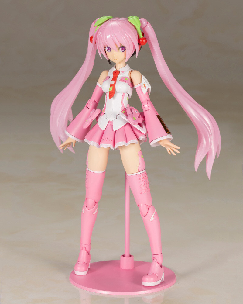 Frame Arms Music Girl Sakura Miku Plastic Model Kit