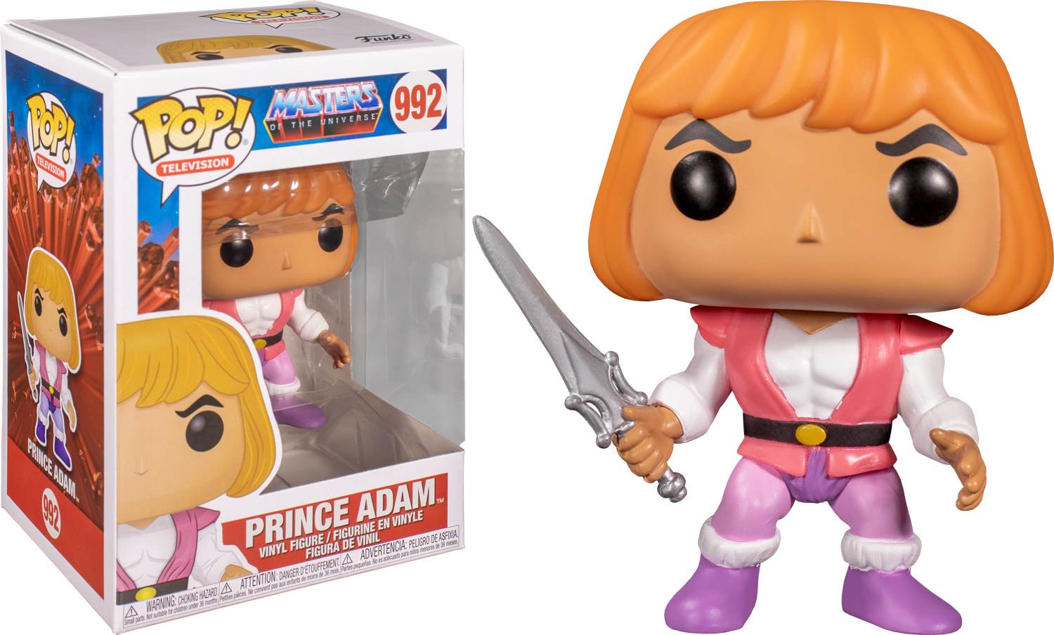 Masters of the Universe - Prince Adam Funko Pop! Vinyl Figure