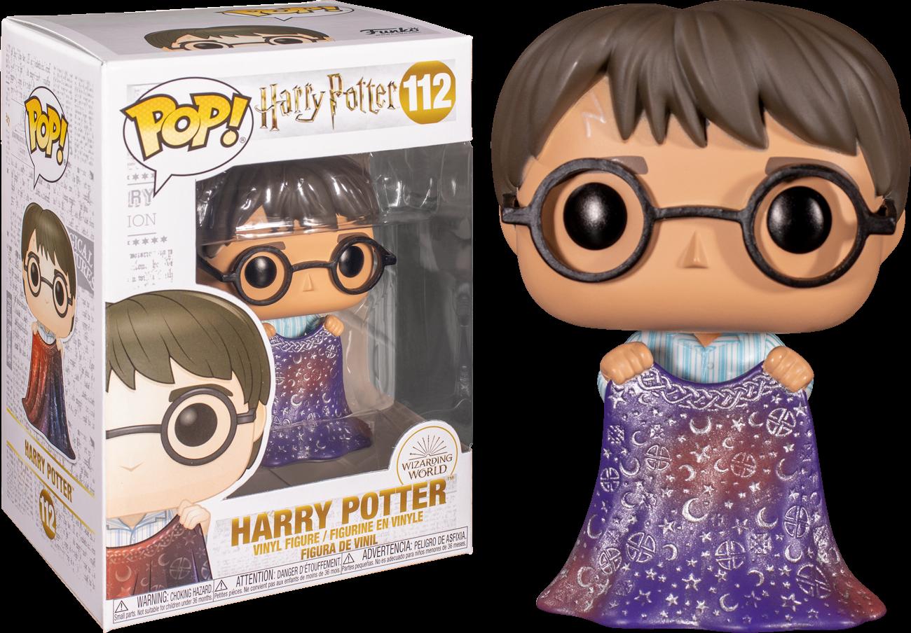 Harry Potter Harry with Invisibility Cloak Pop! Vinyl Figure