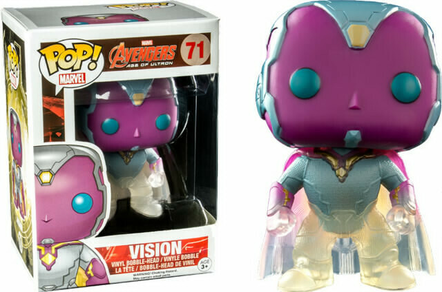 Funko Avengers Age of Ultron Phasing Vision POP! Vinyl Figure - Big Boys Toy Store Exclusive