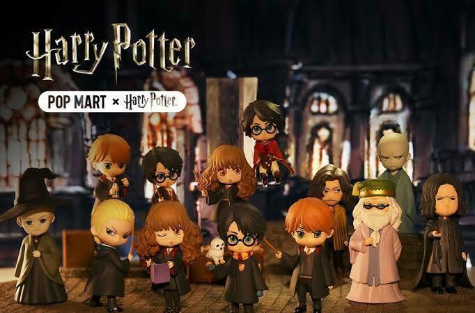 PRE-ORDER Moetech Pop Mart - Harry Potter Box of 12
