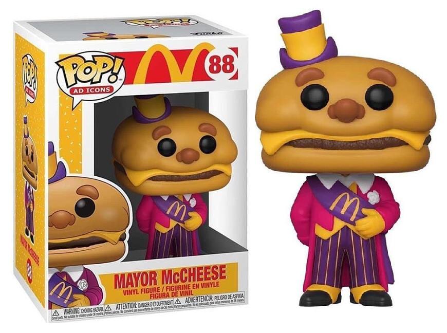 Funko McDonald's Mayor McCheese Pop! Vinyl Figure