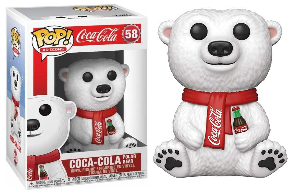 PRE-ORDER Funko Coca Cola Bear Funko Pop! Vinyl Figure (Rerun)