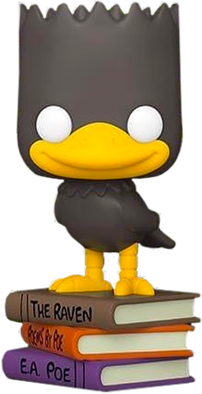 The Simpsons - Bart as The Raven Exclusive Pop! Vinyl Figure