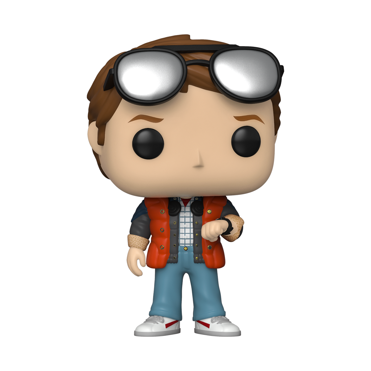 Back to the Future - Marty Checking Watch Summer Convention 2020 Exclusive Pop! Vinyl Figure