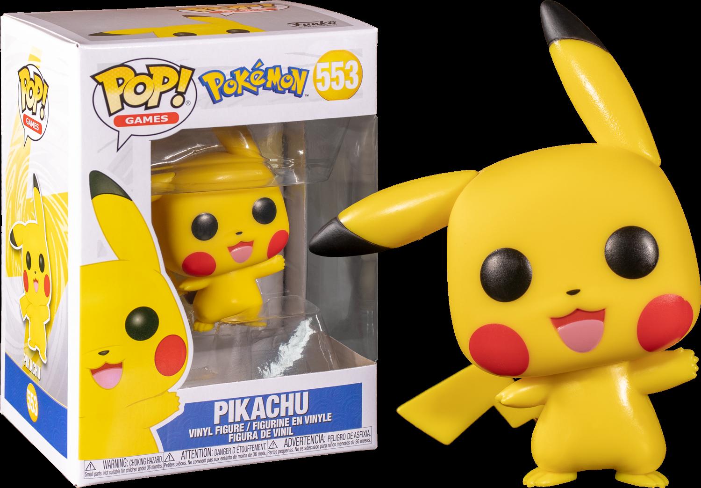 Pokemon Pikachu Waving Pop! Vinyl Figure