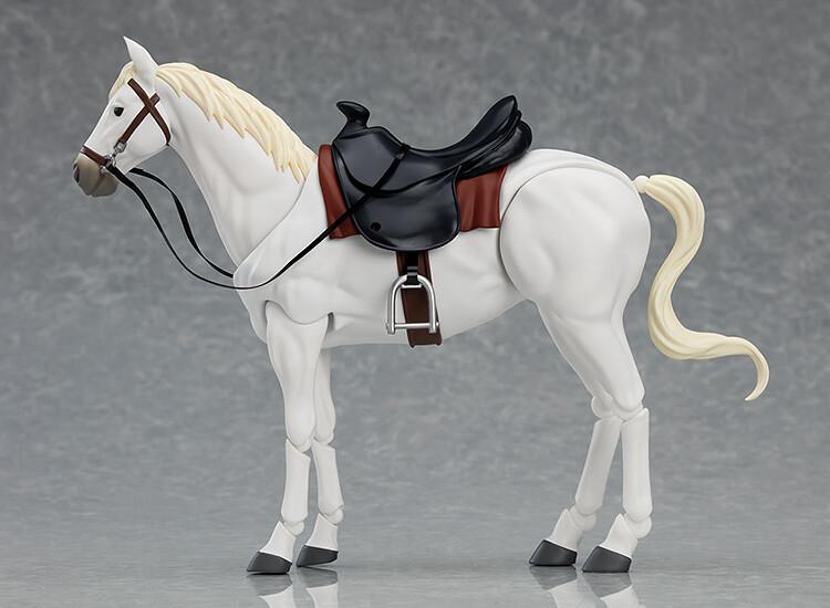 PRE-ORDER Good Smile figma Horse ver. 2 (White)