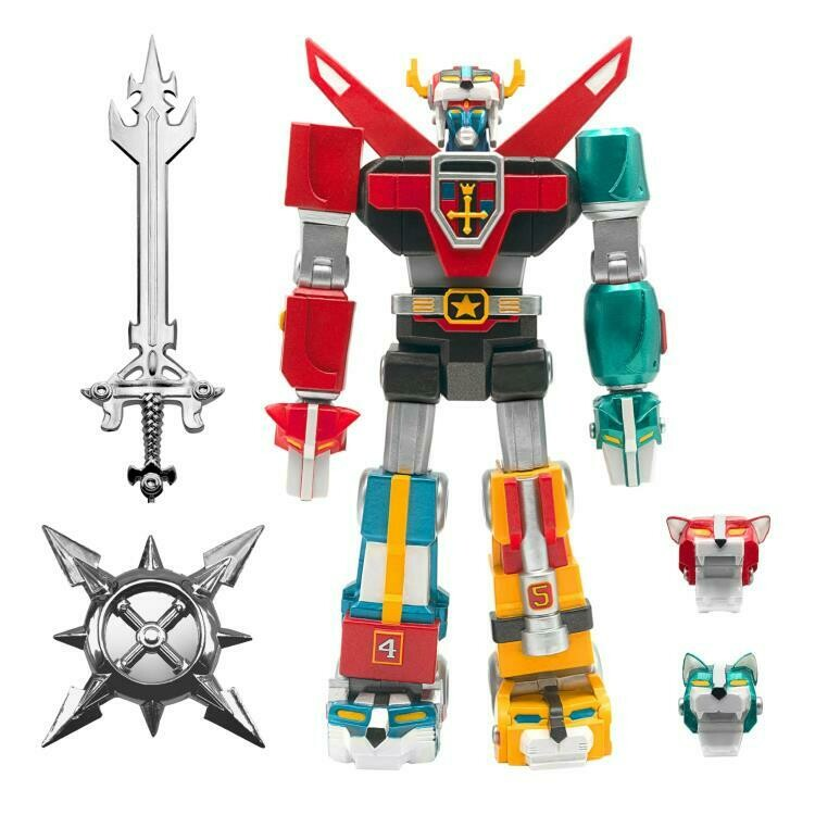 PRE-ORDER Voltron Ultimates Toy Deco 6-Inch Action Figure