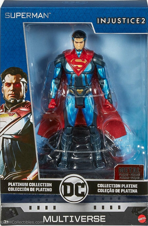 "Mattel DC Multiverse Platinum Collection Superman Injustice 6.75"" Diecast Action Figure"