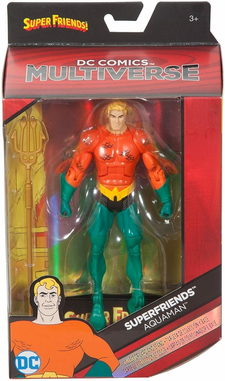 "Mattel DC Comics Multiverse Super Friends Aquaman 6"" Action Figure"