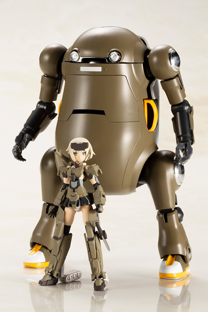 Framearms Girl Gourai with 20 MechatroWeGo Handscale Plastic Model Kit