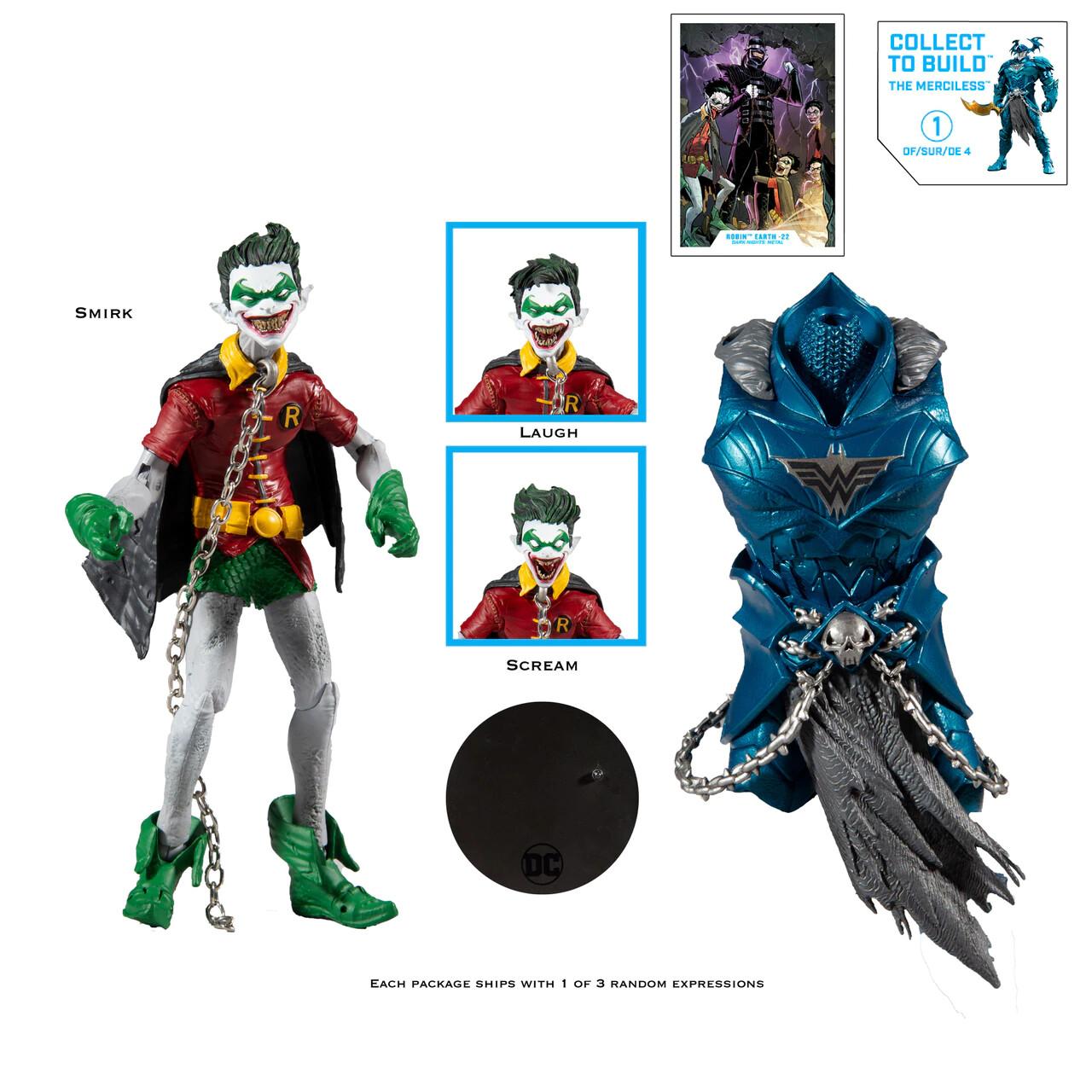 "Mcfarlane DC MULTIVERSE 7"" ACTION FIGURE - Wave 2 Robin Crow"