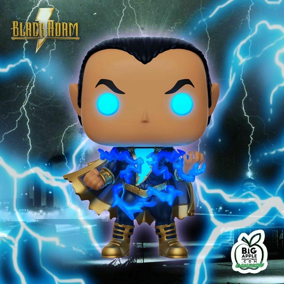Funko Black Adam - Black Adam with Energy Glow Big Apple Exclusive Pop! Vinyl Figure