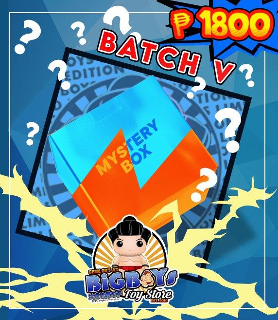 BBTS Exclusive Mystery Box Batch V