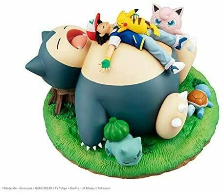 PRE-ORDER G.E.M. Pocket Monster a nap with Snorlax