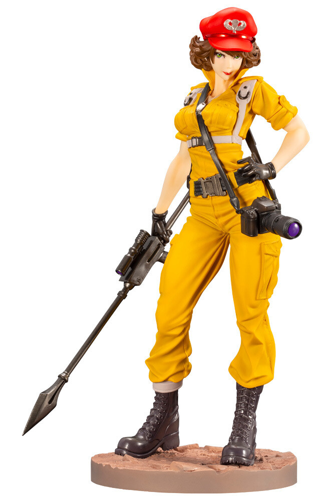 PRE-ORDER G.I. JOE LADY JAYE CANARY ANN COLOR BISHOUJO STATUE