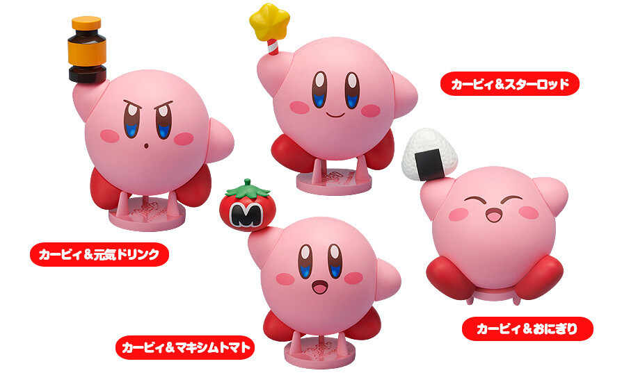 Corocoroid Kirby Collectible Figures (6pcs/box)