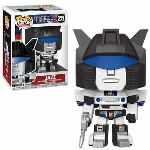 PRE-ORDER Transformers Jazz Pop! Vinyl Figure