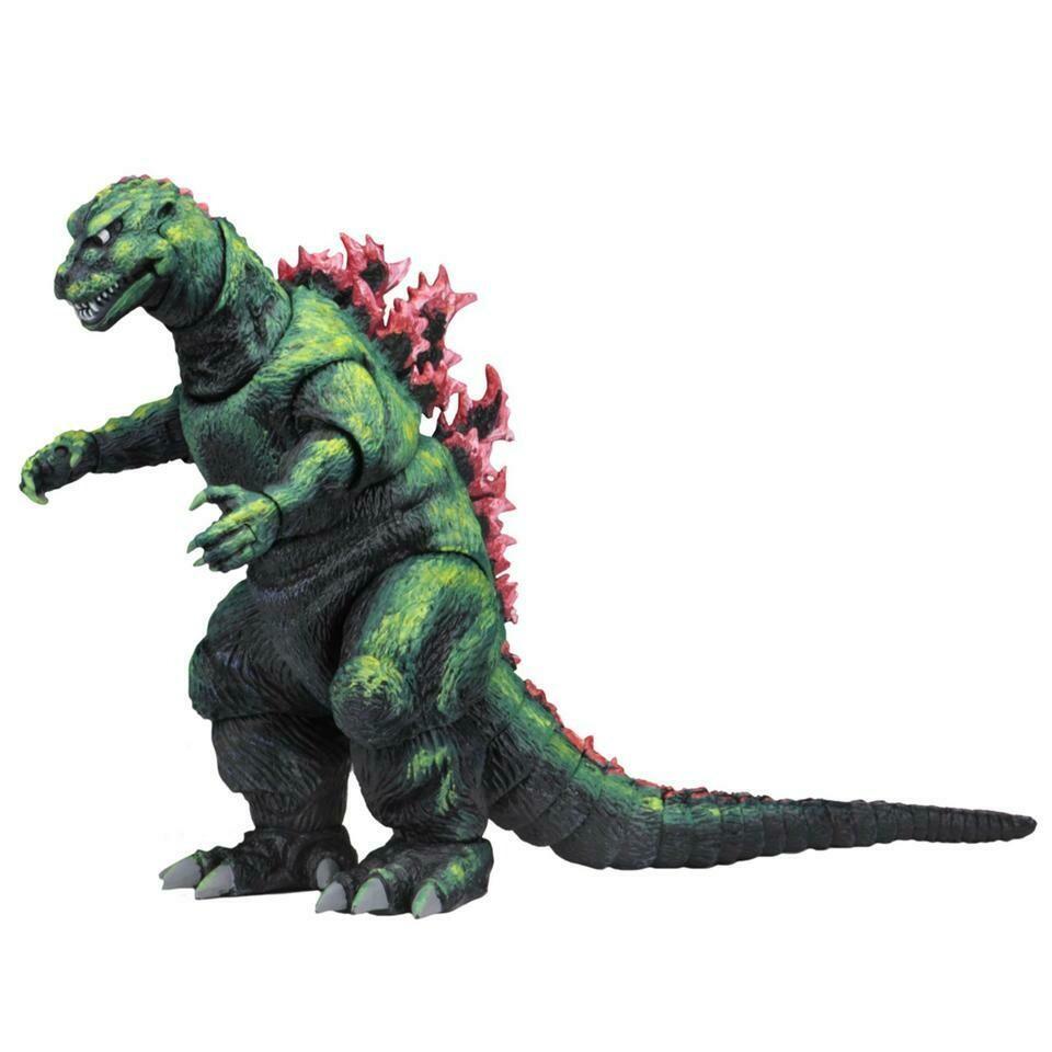 Neca Godzilla - 12″ Head-to-Tail Action Figure – 1956 Movie Poster Godzilla