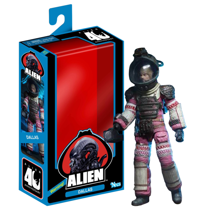 "Alien - Pressure Suit Dallas 40th Anniversary 7"" Action Figure"