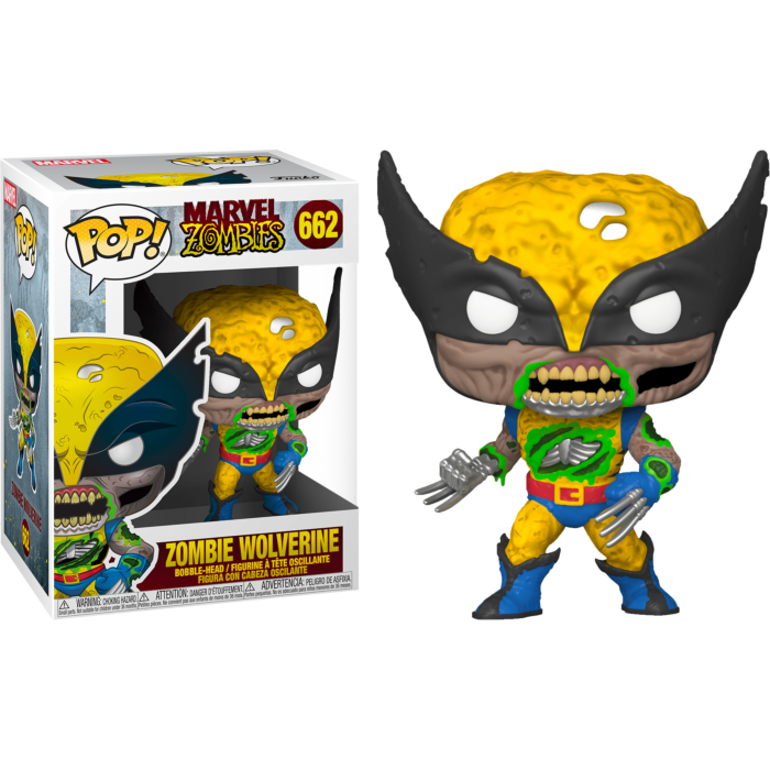 Funko Marvel Zombies Wolverine Pop! Vinyl Figure