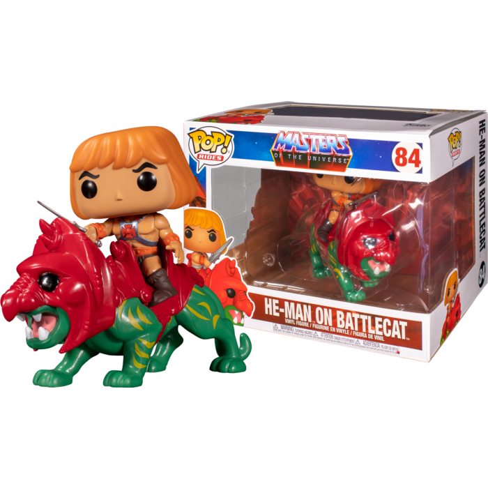 POP! Ride: MOTU- He-Man on Battle Cat