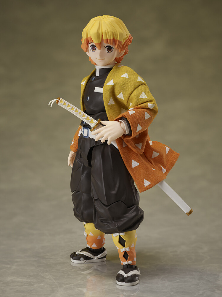 PRE-ORDER Good Smile Demon Slayer: Kimetsu no Yaiba [BUZZmod.] Zenitsu Agatsuma 1/12 scale action figure