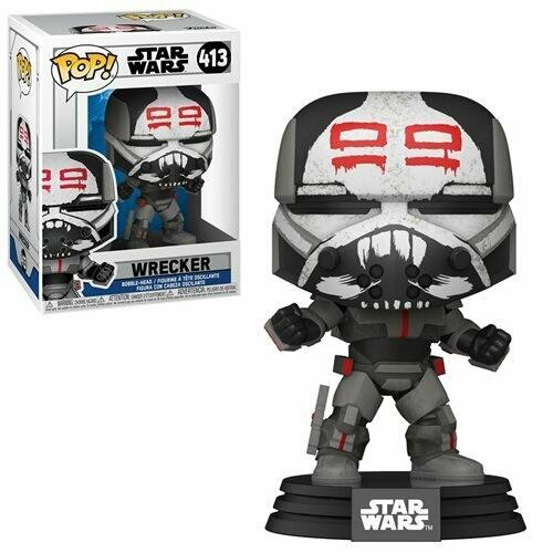 PRE-ORDER Star Wars: The Clone Wars Wrecker Pop! Vinyl Figure
