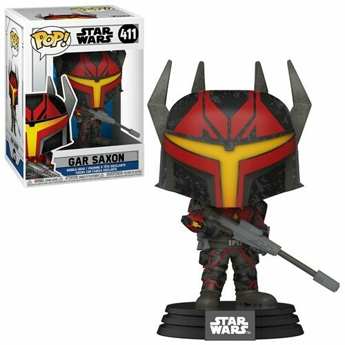 PRE-ORDER Star Wars: The Clone Wars Gar Saxon Pop! Vinyl Figure