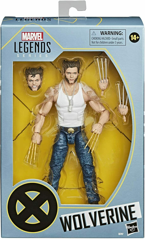 Hasbro Marvel Legends Wolverine Logan Casual