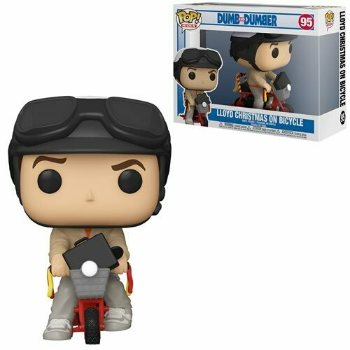 PRE-ORDER Dumb and Dumber Lloyd with Bicycle Pop! Vinyl Vechicle