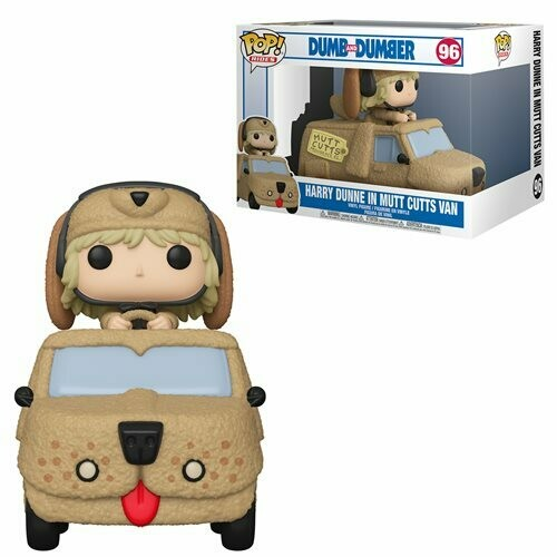 Funko Dumb and Dumber Harry with Mutts Cutts Van Pop! Vinyl Vehicle