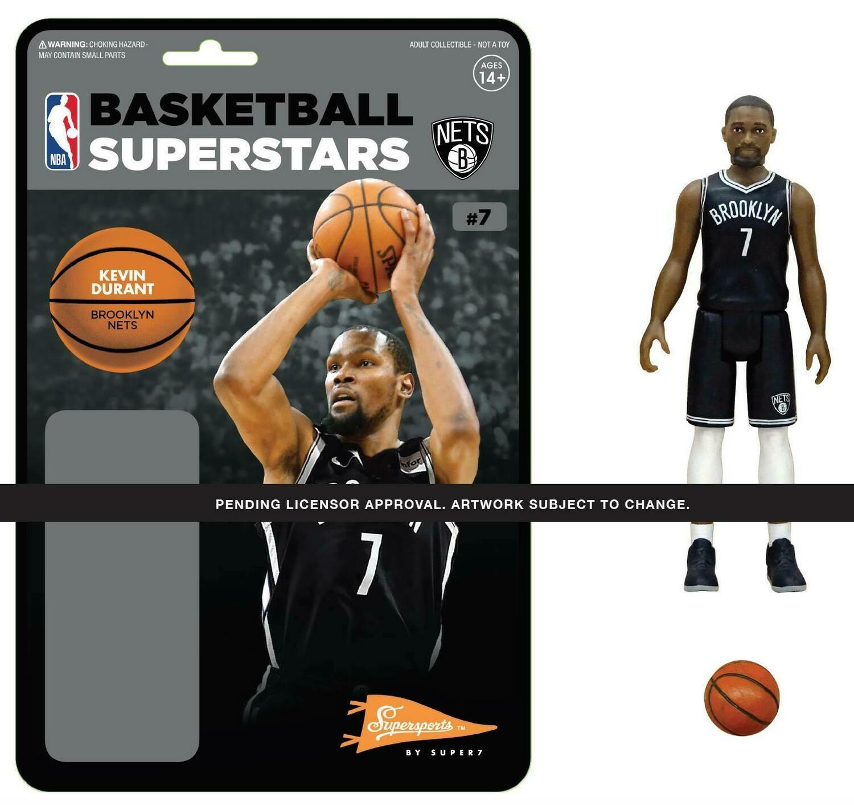 PRE-ORDER NBA REACTION FIGURE - KEVIN DURANT (NETS)