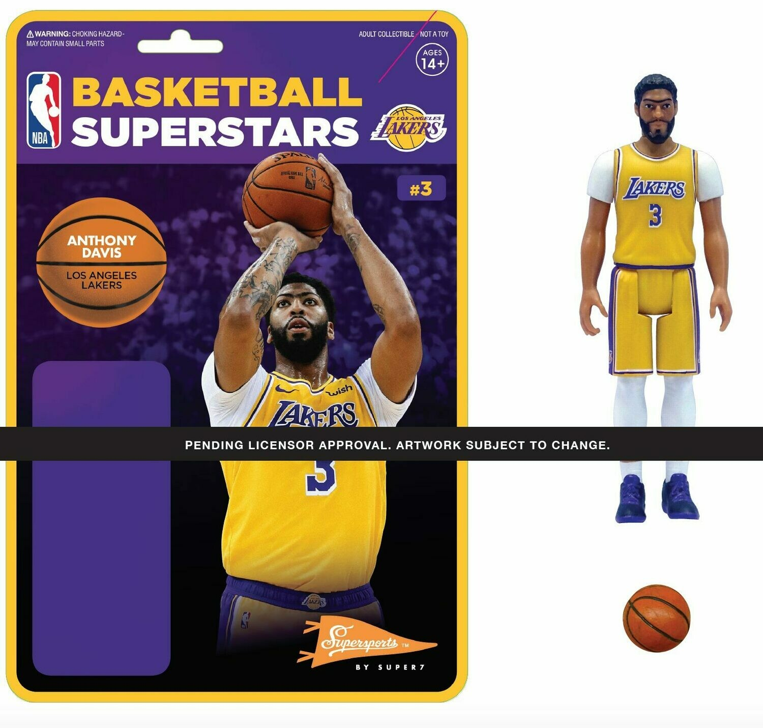 PRE-ORDER NBA REACTION FIGURE - ANTHONY DAVIS (LAKERS)