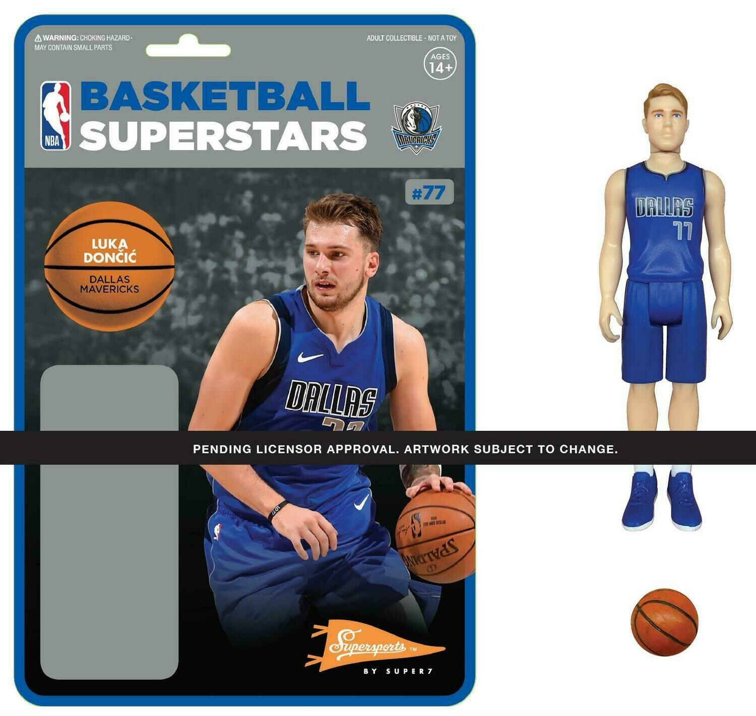 PRE-ORDER NBA REACTION FIGURE - LUKA DONCIC (MAVERICKS)