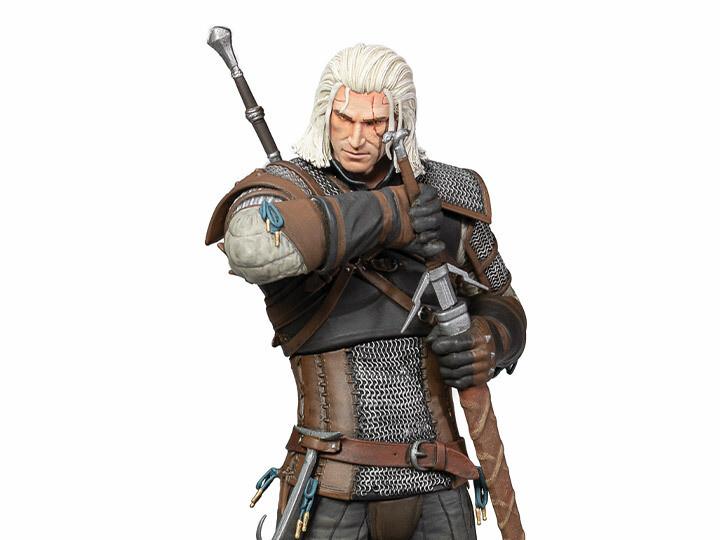 PRE-ORDER Dark Horse The Witcher 3 - Wild Hunt: Deluxe Heart of Stone Geralt Figure (with interchangeable heads)