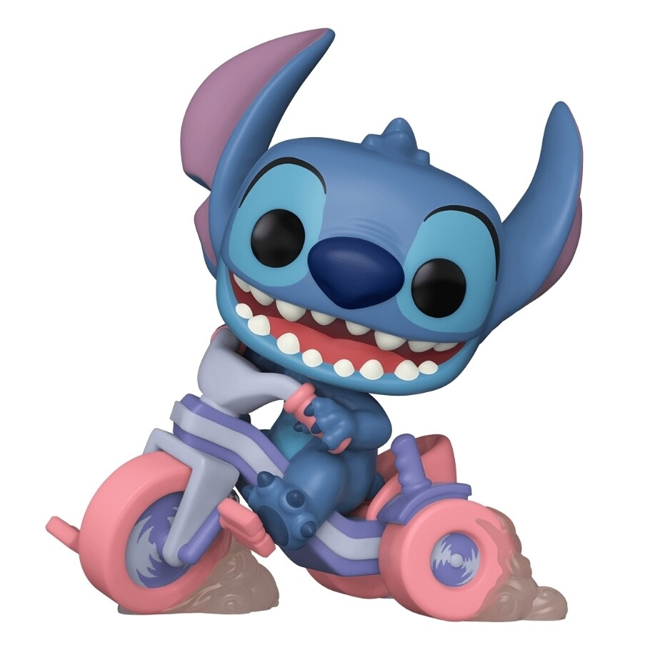 Stitch on Tricycle Exclusive Pop! Vinyl Figure