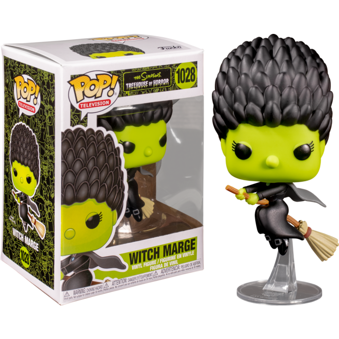 The Simpsons Witch Marge Pop! Vinyl Figure