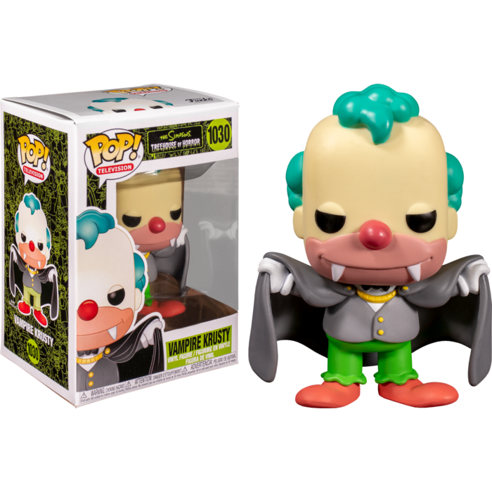 The Simpsons Vampire Krusty Pop! Vinyl Figure