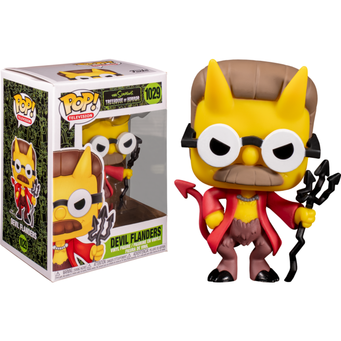 The Simpsons Devil Flanders Pop! Vinyl Figure