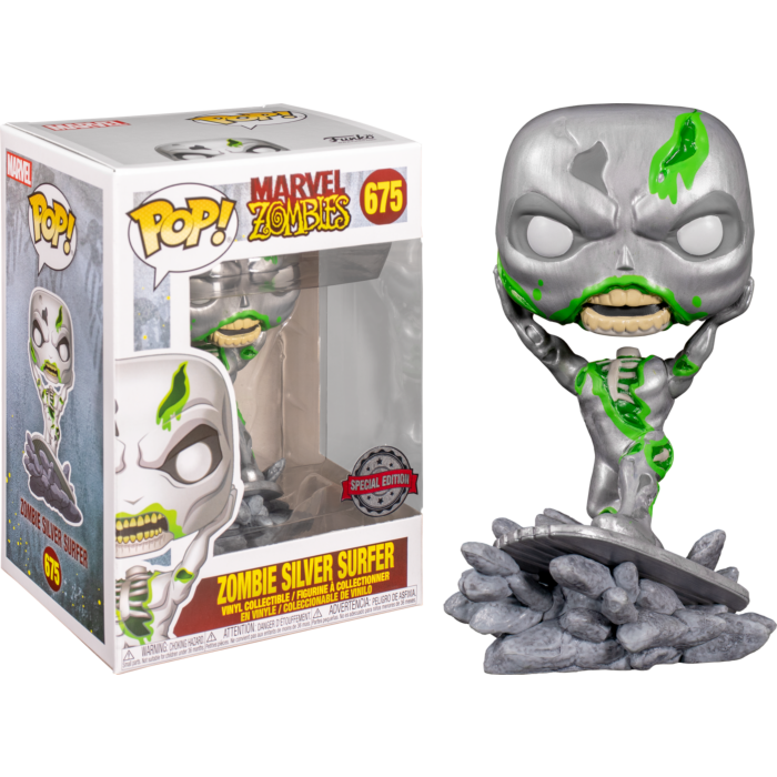 Marvel Zombies - Silver Surfer Zombie Pop! Vinyl Figure