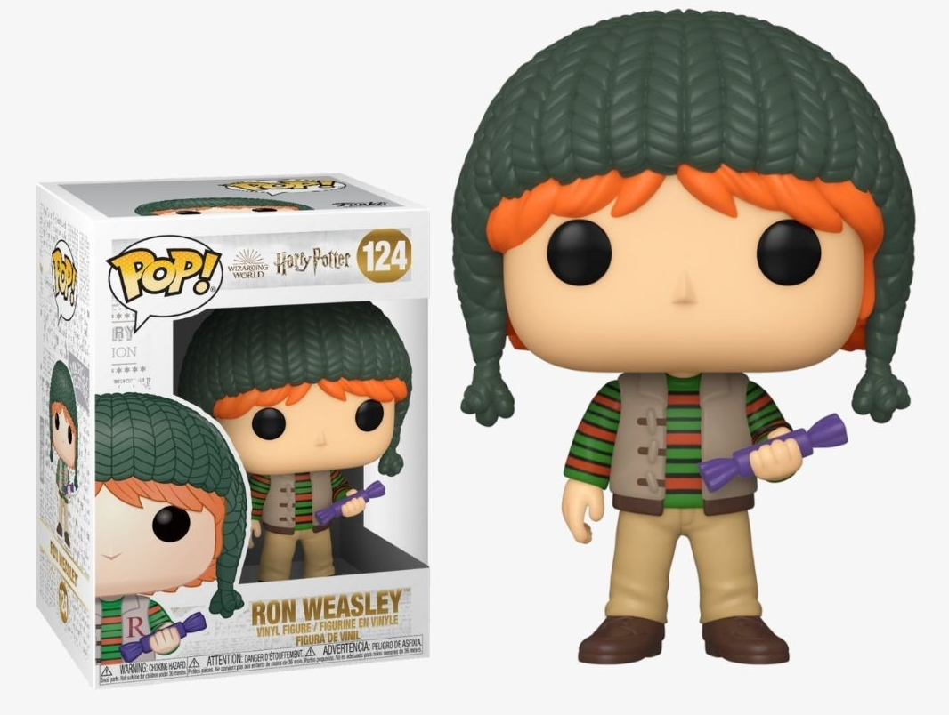Harry Potter - Ron Holiday Pop! Vinyl Figure