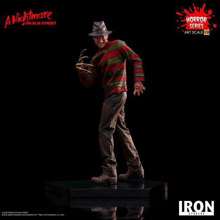 Iron Studios A Nightmare on Elm Street Freddy Krueger 1/10 Art Scale