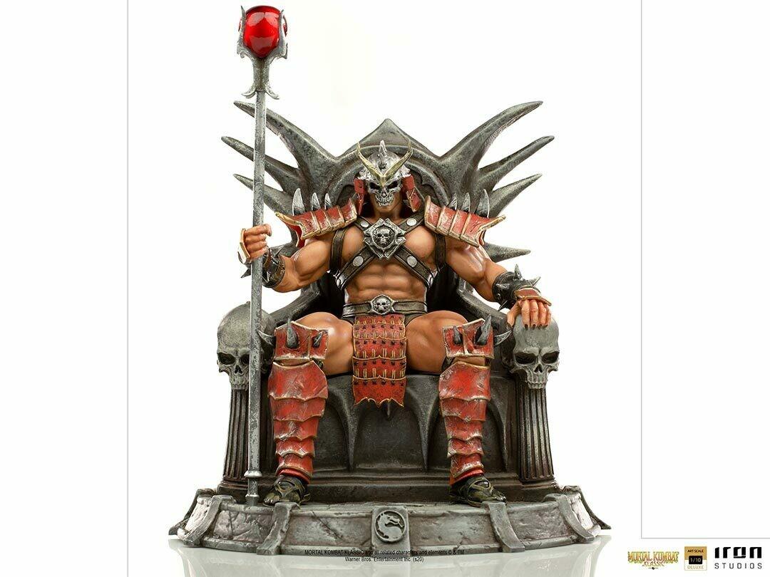 PRE-ORDER Iron Studios Shao Khan Deluxe Art Scale 1/10 - Mortal Kombat