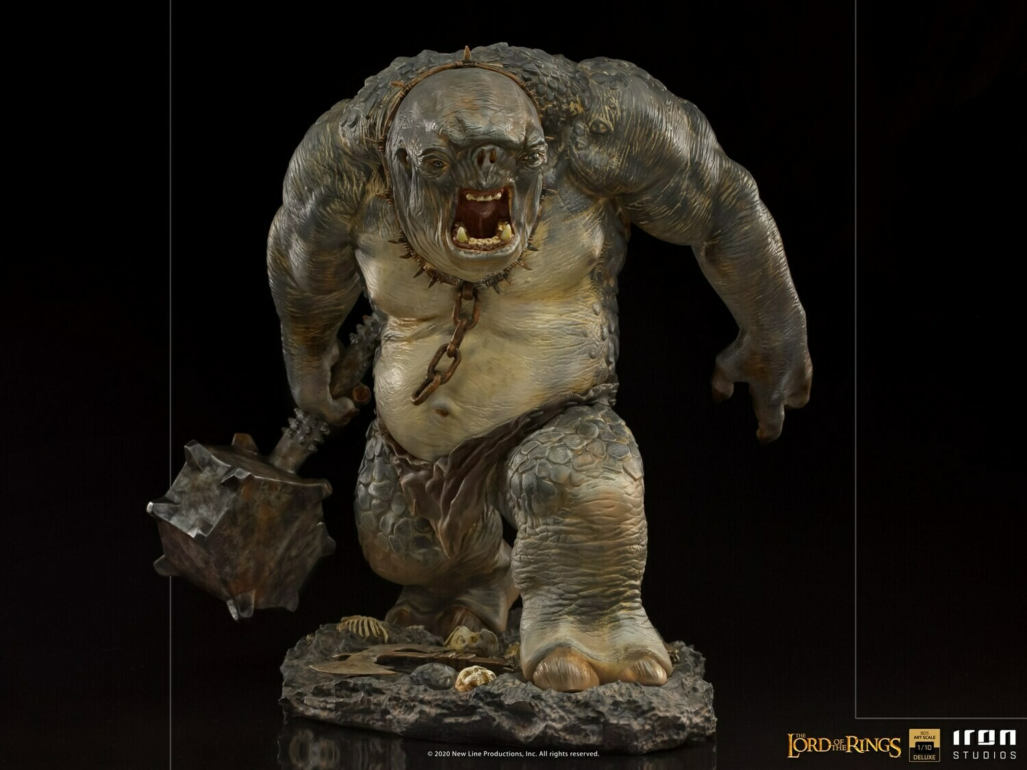 PRE-ORDER Iron Studios Cave Troll Deluxe BDS Art Scale 1/10 - Lord of the Rings