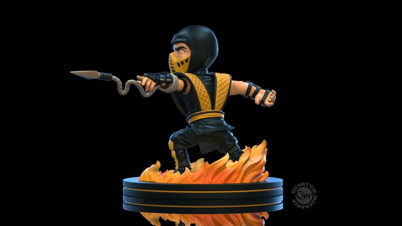 PRE-ORDER QMx Mortal Kombat Scorpion Q-Fig