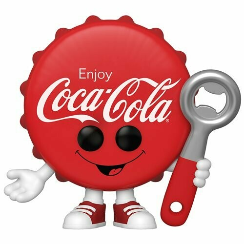 PRE-ORDER Coca-Cola Coke Bottle Cap Pop! Vinyl Figure