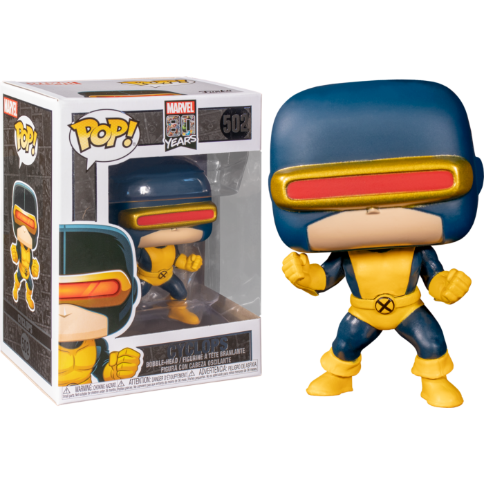X-Men - Cyclops First Appearance 80th Anniversary Pop! Vinyl Figure